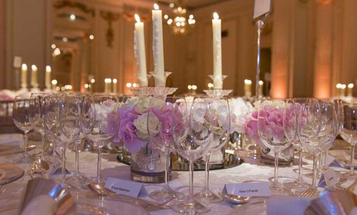 30 stunning wedding reception table setting ideas. Black Bedroom Furniture Sets. Home Design Ideas