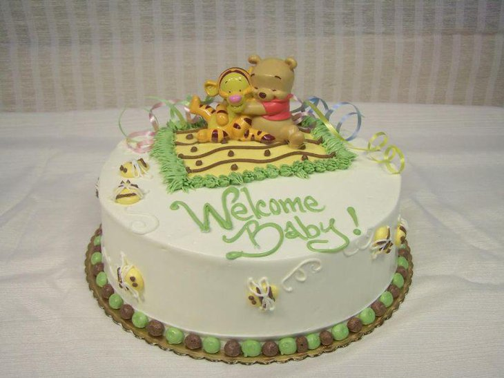 Pooh Bear Cake Decorations