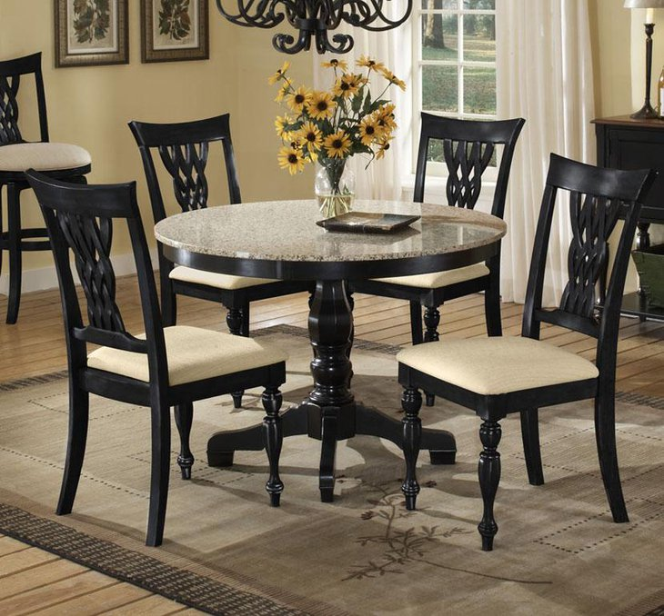 32 Stylish Dining Room Ideas To Impress Your Dinner Guests: 37 Elegant Round Dining Table Ideas