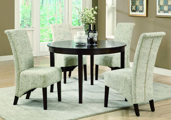 37 elegant round dining table ideas table decorating ideas for Modelos de comedores redondos