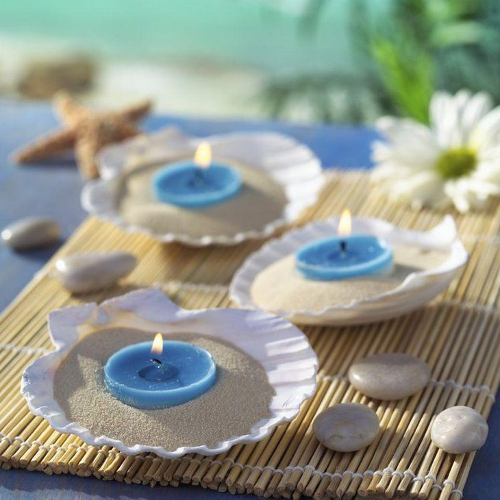 Cute Wedding Centerpiece Ideas: Top 31 Beach Theme Wedding Centerpieces Ideas