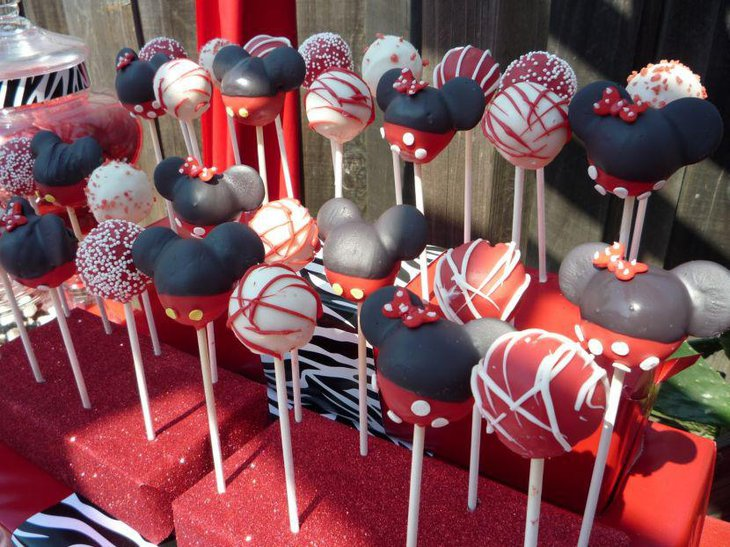 33 minnie mouse themed candy buffet ideas table for Decor yo pops