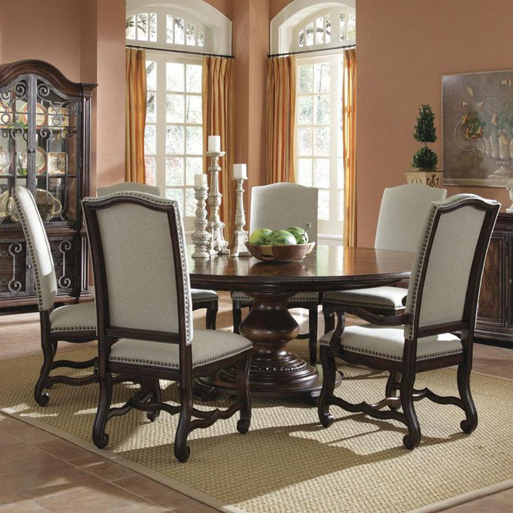 Wood Kitchen Tables And Chairs Sets Ideas With Enchanting: 37 Elegant Round Dining Table Ideas