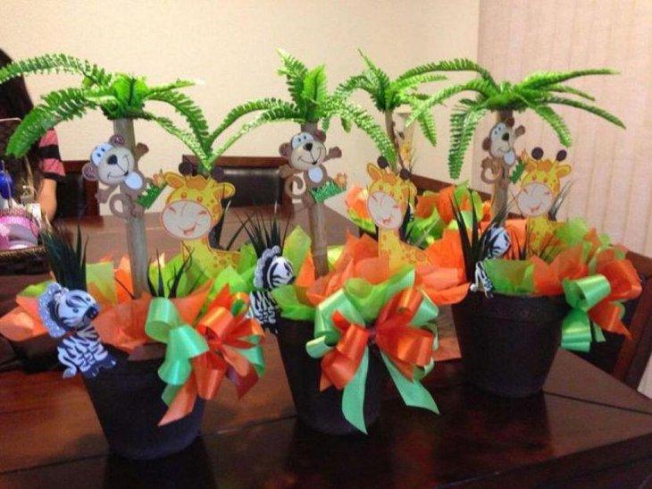 Jungle Baby Shower Decoration Ideas