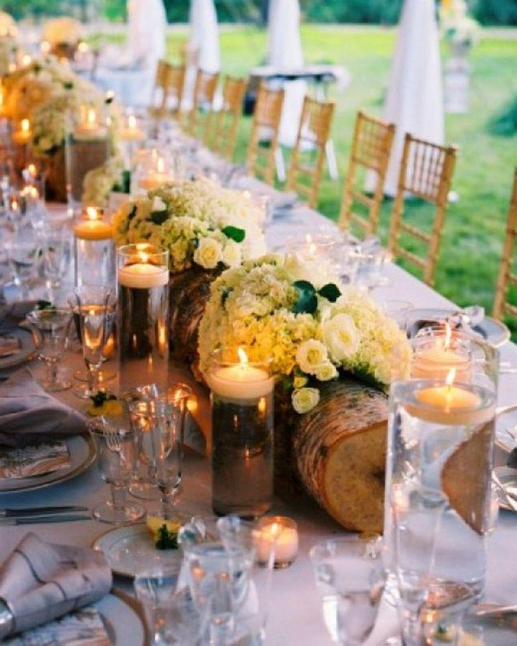 35 diy wedding centerpieces table decorating ideas for Recycled centerpiece ideas