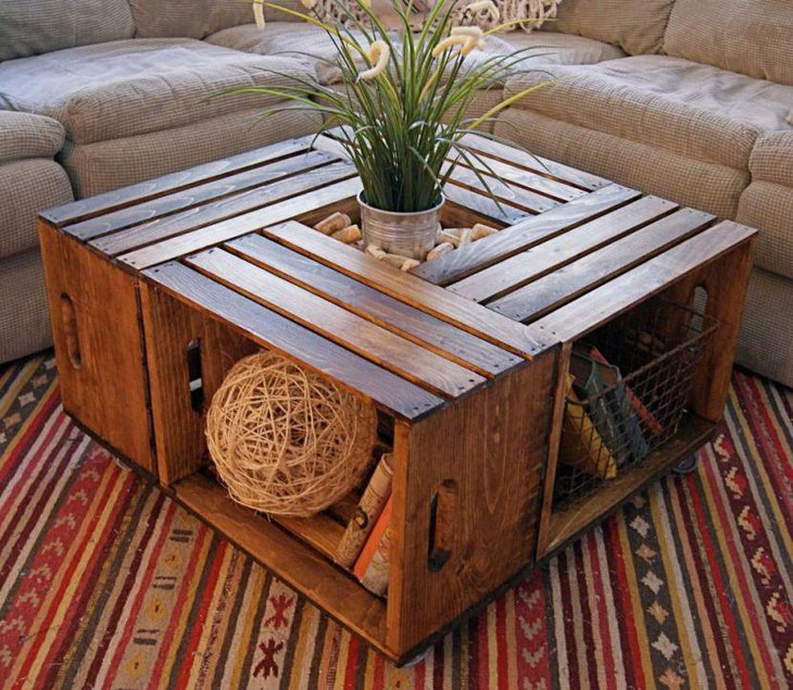 35 Unique Coffee Table Ideas For Living Room Table Decorating Ideas