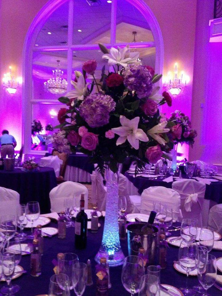 37 Trendy Purple Wedding Table Decorations Table Decorating Ideas